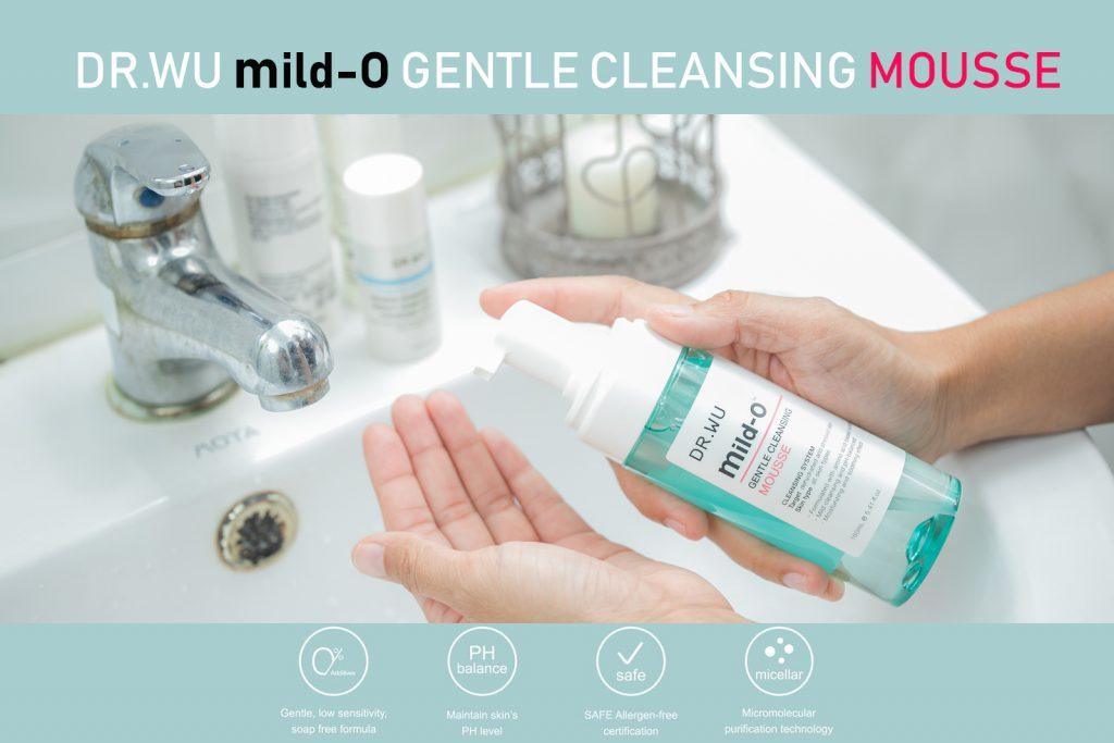 รีวิว DR.WU MILD-O GENTLE CLEANSING MOUSSE  คลีนซิ่งมูสตัวใหม่ล่าสุดจากประเทศไต้หวัน