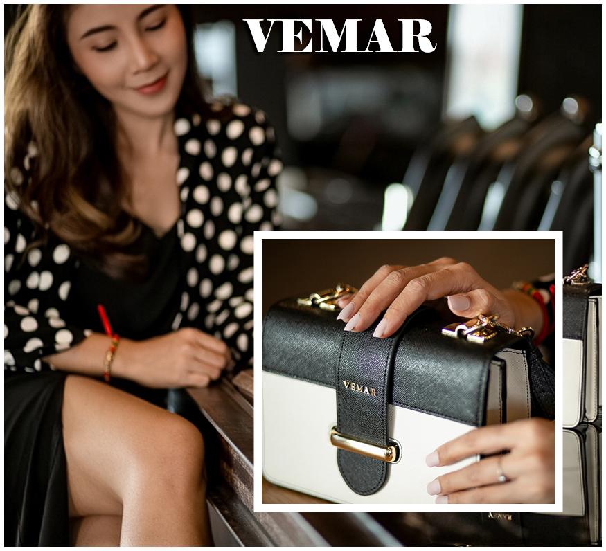 รีวิว กระเป๋า VEMAR ใบเดียวใส่เที่ยวได้หลายลุค